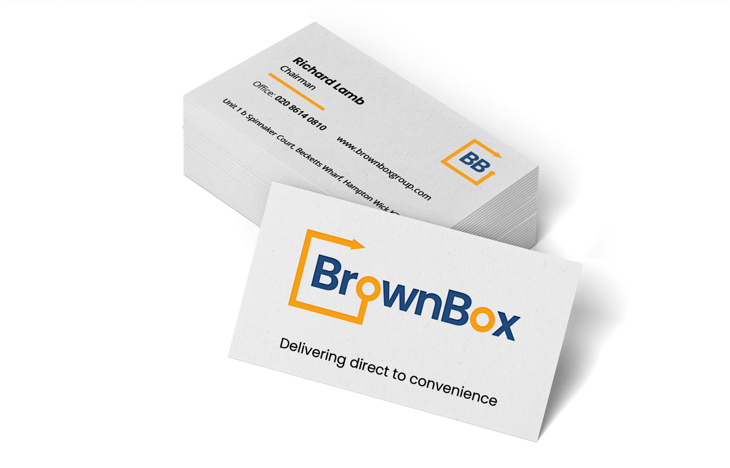 Brownbox Business cards and branding