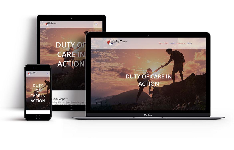 DOCIAsport Website