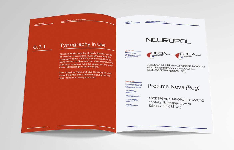 DOCIAsport Brand Book