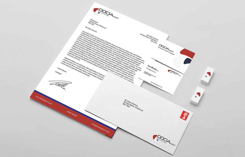 DOCIAsport Branding