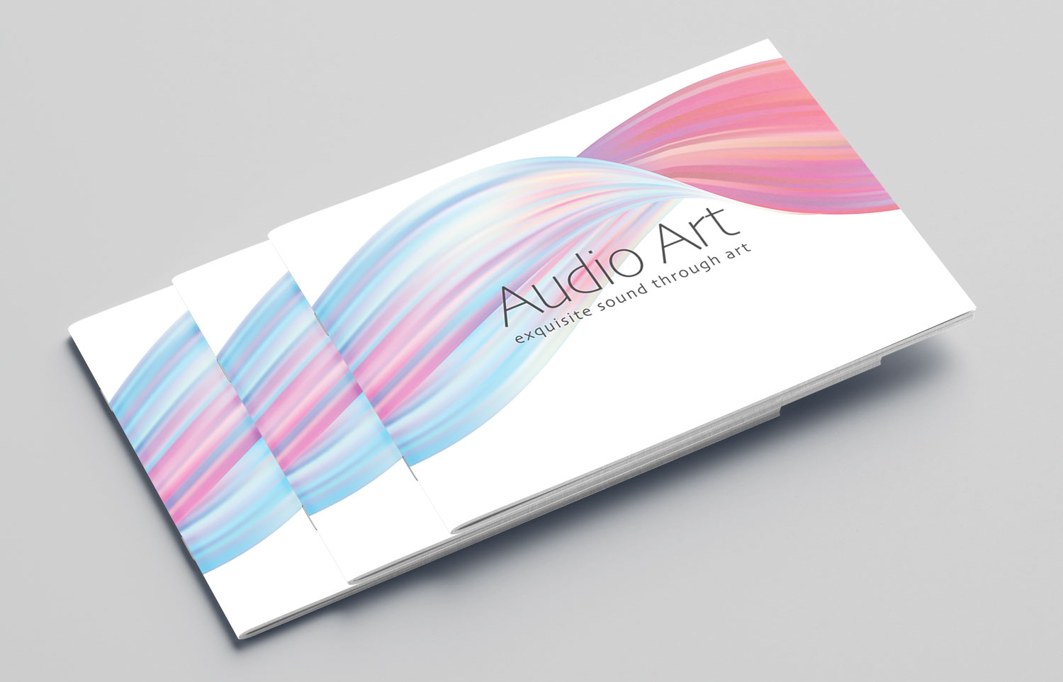 Audio Art Brochure