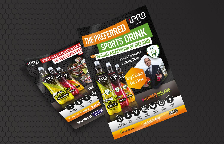 iPro Sport Leaflets