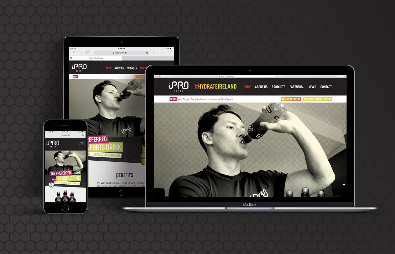 iPro Sport Website