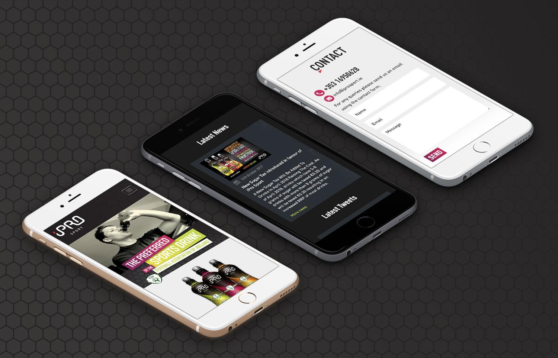 iPro Sport iPhone