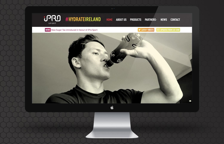 iPro Sport Homepage