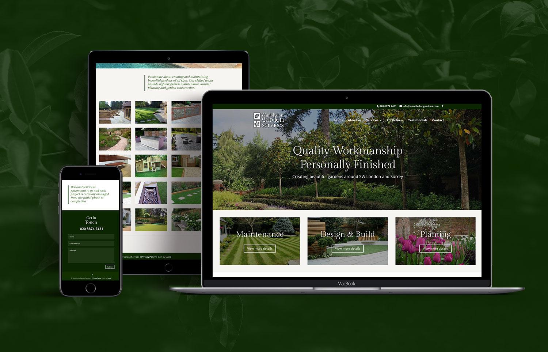 Wimbledon Gardens Website