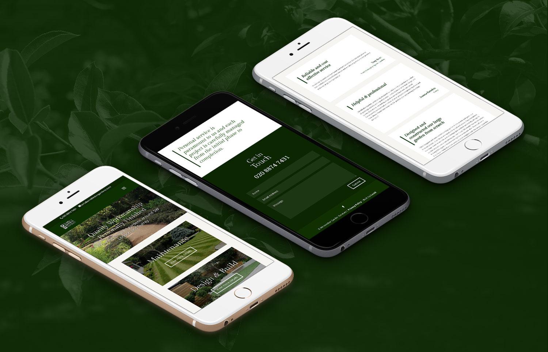 Wimbledon Gardens iPhone