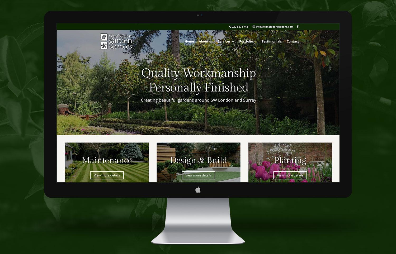 Wimbledon Gardens Homepage