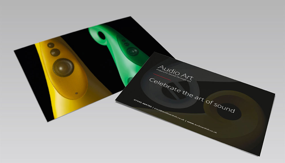 Audio Art Postcards